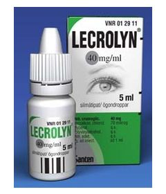 LECROLYN 40 mg/ml silmätipat, liuos 5 ml