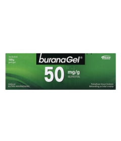 BURANAGEL 50 mg/g geeli 100 g