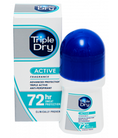 TRIPLE DRY WOMEN ACTIVE ROLL-ON 72H   50 ML