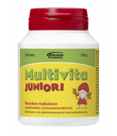 MULTIVITA JUNIORI MANSIKKA MONIVITAMIINI   200 PURUTABL
