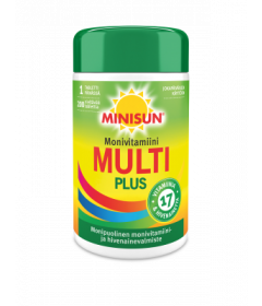 MINISUN MONIVITAMIINI MULTI PLUS   200 TABL