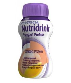 NUTRIDRINK COMPACT PROTEIN PERSIKKA-MANGO   4X125 ML